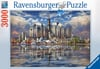 major cities around North America 3000 piece jigsaw puzzle made by ravensburger in germany