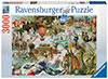 Oceania Historical 3000 Pieces Jigsaw Puzzle by Ravensburger Puzles Germany # 17068