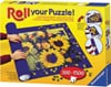 roll up your puzzle and transport your puzzle while in progress mat measures 100X66