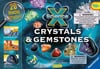 crystlas and gemstones science activity with 20 amazing activities by ravensburger