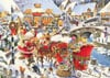 Roy Trower Artist Which Way Santa? visit christmas Ravenbsurger JigsawPuzzles thousand pieces jigsaw