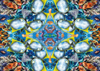 Ocean Kaleidoscope Artistic Illustration 1000 Piece Jigsaw Puzzle by RavensburgerPuzzles Germany # 1