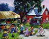 PaulinePaquin Quebec Artiste The Kiosque Ravenbsurger JigsawPuzzles thousand pieces jigsaws p