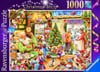 santas-christmas-shop,Roy Trower Artist The Christmas Shop 15th Limited Edition Xmas Puzzle by Ravenbsurger JigsawPuzzles