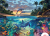 coral reef dolphin puzzle 1000 pieces by Ravensburgerjigsawpuzzles Puzzle