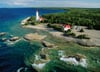 Lighthouse, Bruce Peninsula, Canada jigsaw puzzle by ravensburger, 1000 piece # 191529