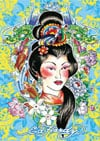 ed hardy geisha tattoo art as 1000Piece Puzzle by RavensburgerJigsawPuzzles