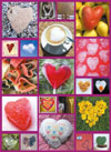 hearts abound beauty puzzle ravensburger 1000 pieces # 191841 Puzzle