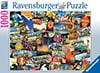 Road Trip USA Kate Ward Thacker 1000 Piece Puzzle by RavensburgerJigsawPuzzles
