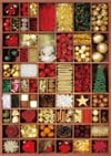 holiday-baubles,Candice Valeureuse Artist winter holiday baubles christmas ravenbsurger JigsawPuzzle # 192397
