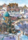 winter-on-the-rideau-canal,Puzzel Ravensburger Games Germany winter on the rideau canal bhat boy Ontario Artist Childhood theme