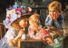 Puzzel Ravensburger Games Germany I have a secret by Bob Byersley Artist Childhood themes