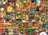Jigsaw Puzzle 1000 pieces Kitchen Cupboard artist Colin Thompson  manufactured by Ravensburger Puzzle