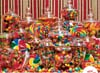 Jigsaw Puzzle 1000 pieces Candy Overload artist Rachel Perry manufactured by Ravensburger