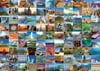 99 Beautiful Places on Earth 1000 Piece Jigsaw Puzzle Manufactured by Ravensburger Puzzles Germany Puzzle