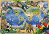 World of Wildlife by howard robinson map 1000 Pieces Jigsaw Puzzle by Ravensburger Puzles Germany #