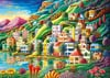 Dream City by Andy Russell 1000 piece jigsaw puzzle manufactured by Ravensburger puzzles  Puzzle