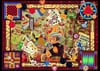 Kate Ward Thacker collage of vintage toys and games is 1000 piece jigsawpuzzle ravnsburger