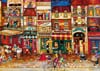 Streets of France painted by Jennifer Grant 1000 piece jigsaw puzzle manufactured by Ravensburger pu