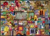 The Craft Cupboard 1000 Piece Jigsaw Puzzle by artist Colin Thompson Ravensburger Puzzel