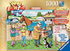 What If? Puzzle # 8 titled The Racehorse, Made by Ravensburger Jigsaw Puzzles # 194384