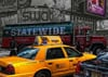 Ravenburger JigsawPuzzle 1000 Pieces by Ravensberger Games & Puzzles Germany yellow new york taxi ca