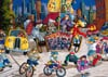 Pauline Paquin quebec artiste colorful paintings of chilhood joy brought to life in a special puzzle Puzzle