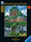 Richard T. Pranke Quebec Artist Chateau Frontenac Ravenbsurger JigsawPuzzles thousand pieces jigsaws Puzzle