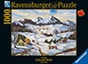 Gerard Lapointe Quebec Canadian Artist Winter in Charlevoix Ravenbsurger JigsawPuzzles thousand piec