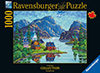Vladimir Horik QuebecArtist Saguena Fjord Ravenbsurger JigsawPuzzles thousand pieces jigsaws pu
