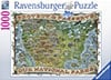 Protect Preserve Parks Map Historical 1000 Pieces Jigsaw Puzzle by Ravensburger Puzles Germany