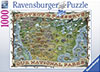 Protect Preserve Parks Map Historical 1000 Pieces Jigsaw Puzzle by Ravensburger Puzles Germany Puzzle