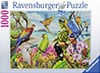parakeets beautiful birds ravensburger 1000 piece jigsaw puzzel # 198610