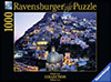 ravensburger jigsaw puzzle 1000 pieces, italy bella positano beautiful