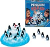 penguin pile-up board game shaking iceberg and save the penguins