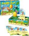 jungle jive board game the eggciting balancing game made by ravensburger games