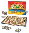 labyrinth board game search for the treasure deep within the maze by ravensburegr games