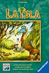 la-isla,la isla! Family strategy Board Game Made by Ravensburger Games # 269501