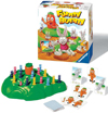 funny-bunny-game,funny bunny children's game hop over the holes and race to the top