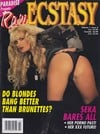 Raw Ecstasy Vol. 1 # 2 magazine back issue