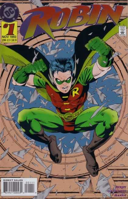 Robin Comic Book Back Issues by A1 Comix