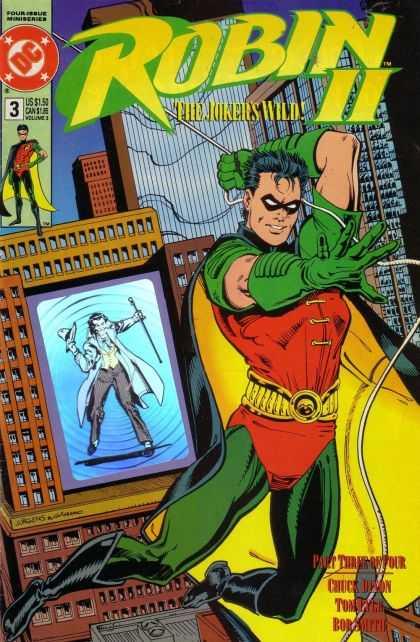 Robin II comic book back issue comicbook back copy