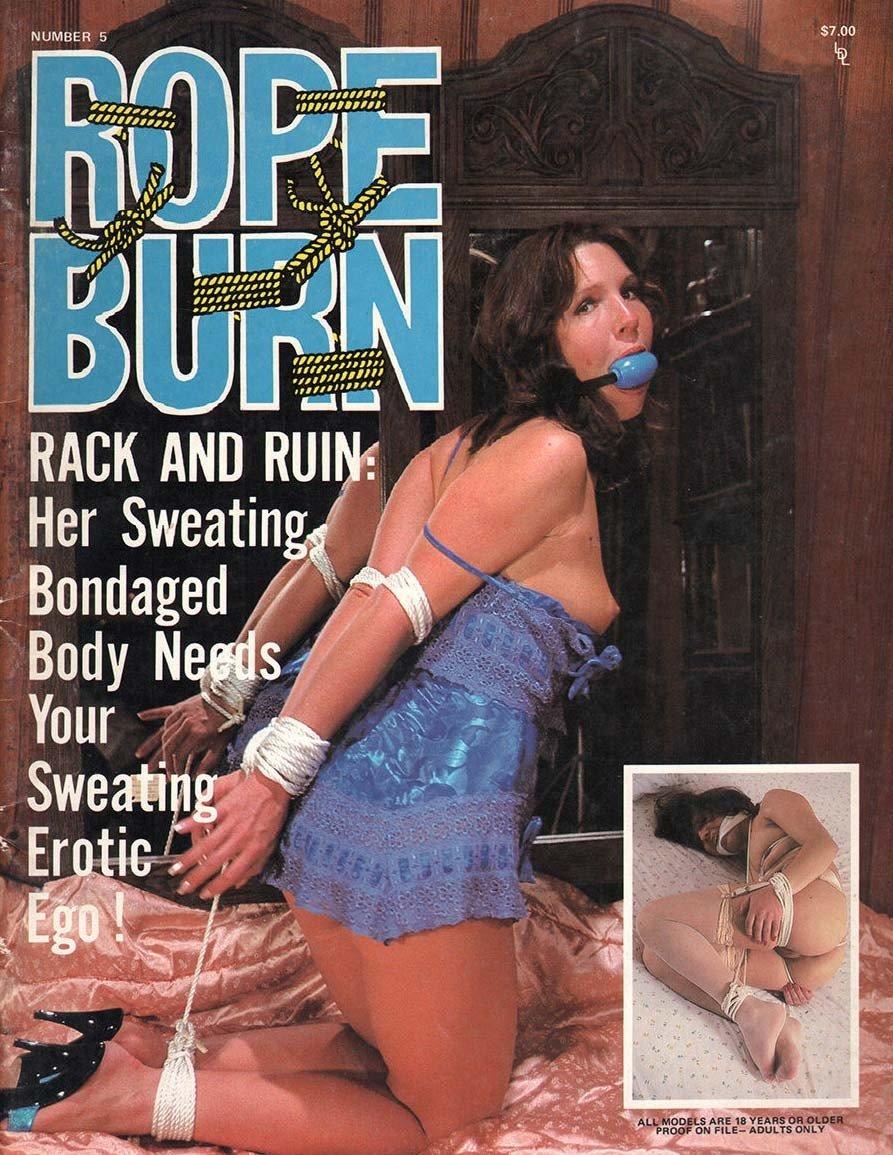 Rope Burn # 5 magazine back issue