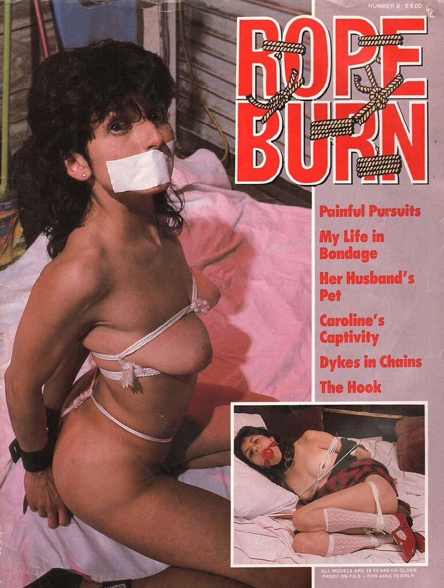 Rope Burn # 8 magazine back issue