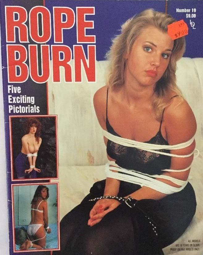 Rope Burn # 19 magazine back issue