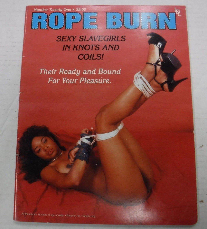 Rope Burn # 21 magazine back issue