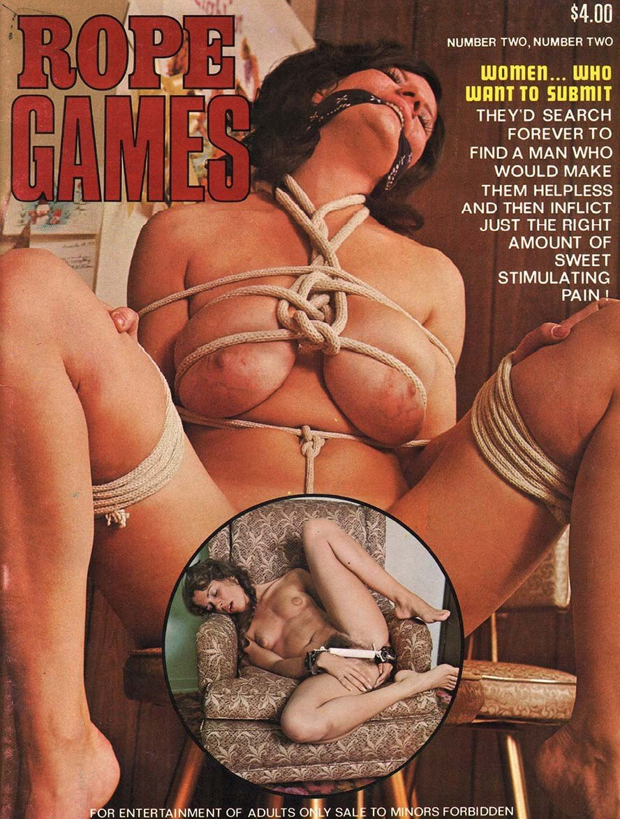 Rope Games Magazine Back Issues of Erotic Nude Women Magizines Magazines Magizine by AdultMags