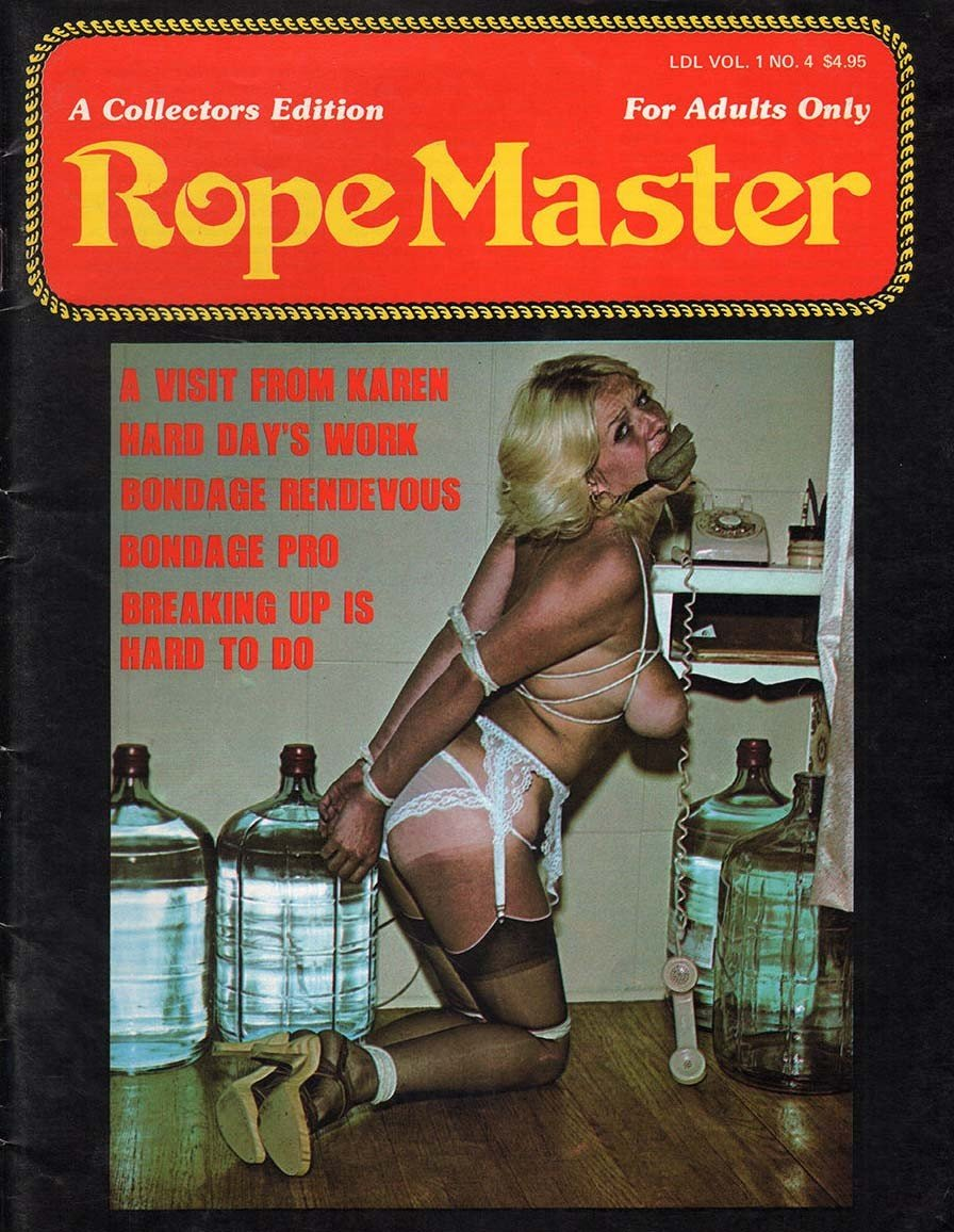 Rope Master Vol. 1 # 4 magazine back issue cover image