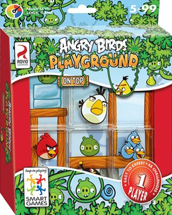 Angry Birds Playground Multi-Level Logic Game Made by Rovio Learning Smart Games angry-birds-playground-on-top