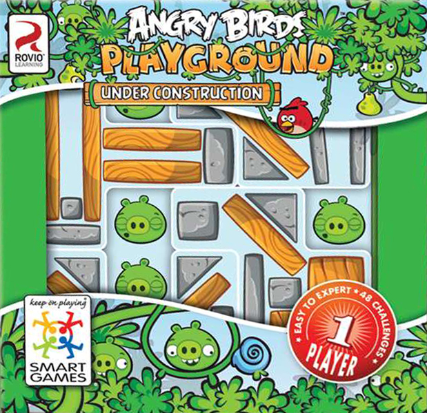 Angry Birds Playground Multi-Level Logic Game Made by Rovio Learning Smart Games angry-birds-playground